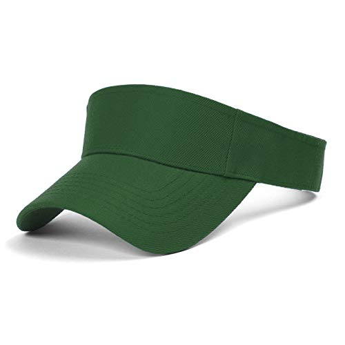 TOP HEADWEAR TopHeadwear Blank Kids Visor - Kelly Green