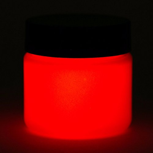 Glow in The Dark Paint - 1 Ounce (Neutral Red) - 5+ Colors Available