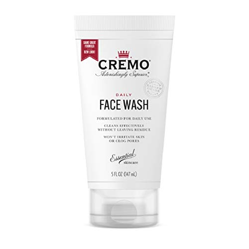 Cremo Daily Face Wash Formulate For Daily Use, 5 Fluid Ounce
