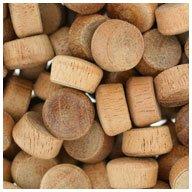 WIDGETCO 1/2' Mahogany Oval Wood Plugs