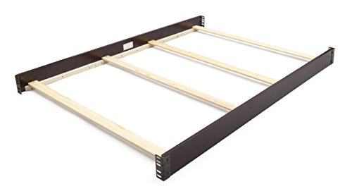 Simmons Kids Slumbertime Full Size Crib Conversion Rails, Black Espresso