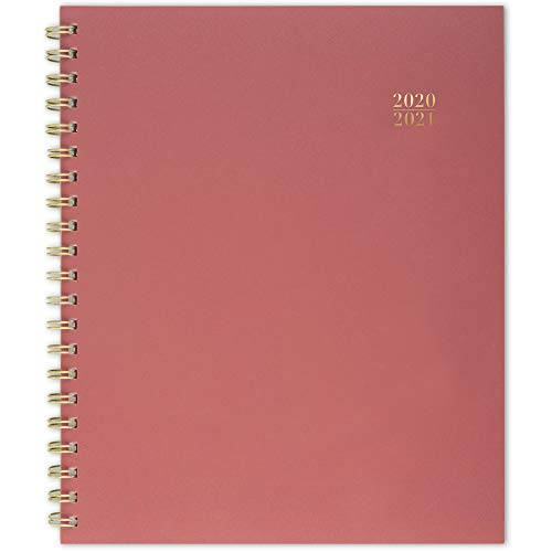 Cambridge Academic Planner 2020-2021, Weekly & Monthly Planner, 8-1/2' x 11', Large, Teacher, Coral (TP400-905A) (TP400-905A-21)