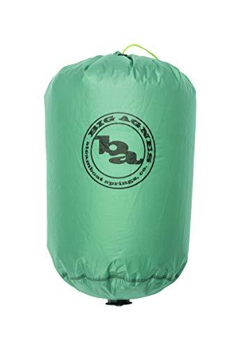 Big Agnes Pumphouse Platinum - Ultralight Sleeping Pad Pump, Camp Pillow, and Dry Bag, Blue