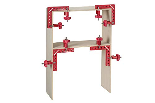 Clamping Square PLUS Clamp - 4 pairs of clamps + 4 Individual Clamping Square Plus