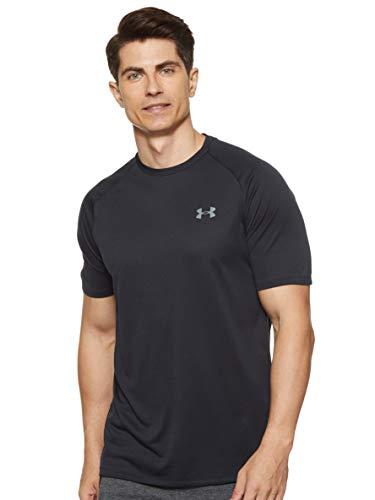Under Armour Men's Tech 2.0 Short-Sleeve T-Shirt , Black (001)/Graphite , X-Large