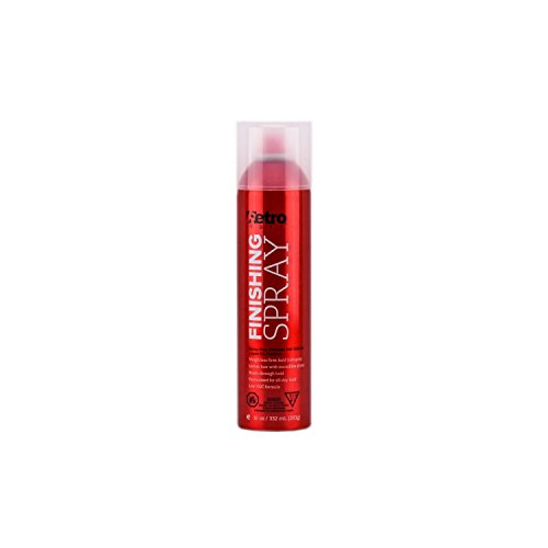 Retro Hair Finishing Spray Weightless Firm-Hold Hairspray, 10 Ounces