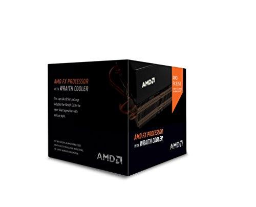 AMD FX 8-Core Black Edition FX-8350 Processor with Wraith Cooler (FD8350FRHKHBX)