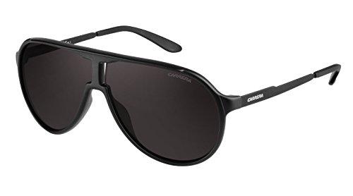 Carrera New Champion/S Pilot Sunglasses, Matte Black & Brown Gray, 62 mm