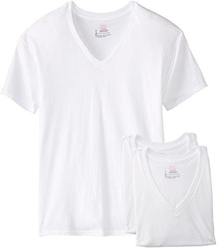 Hanes 3-Pack V-Neck T-Shirt 777 S/P  White