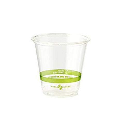 World Centric's Compostable 3 Ounce Corn PLA Cold Cup (Package of 500)