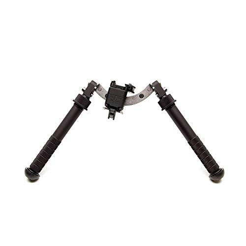 Atlas 5-H Bipod Lever Mount with ARMS 17S Mount, Black