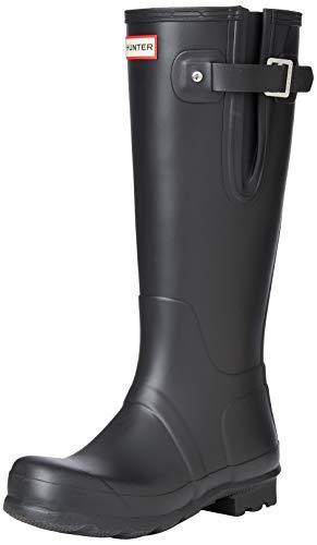 Hunters Boots Men's Original Side Adjustable Tall Boots, Black, 11-11.5 Medium US