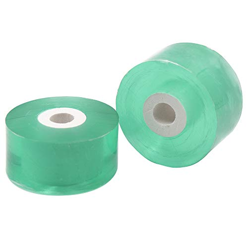 HAINANSTRY Grafting Tape 2 Pcs, Bio-Degradable Garden Floral Tape,Stretchable Plants Repair Tapes for Fruit Tree (Green)