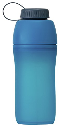 Platypus Meta Collapsible Water Bottle for Camping and Hiking, Bluebird Day, 1.0-Liter