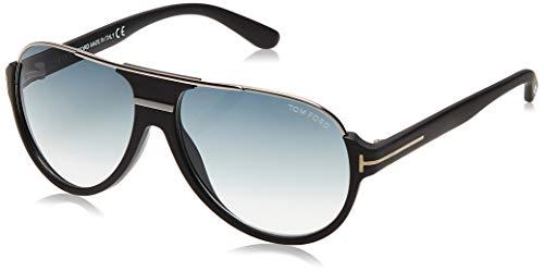 Tom Ford FT0334S 02W Black Dimitry Pilot Sunglasses Lens Category 3 Size 59mm