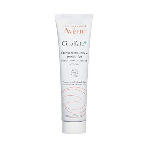 Eau Thermale Avène Cicalfate+ Restorative Protective Cream, wound care, reduce appearance of scars, doctor recommended, zinc oxide, tube, 3.3 fl. oz.