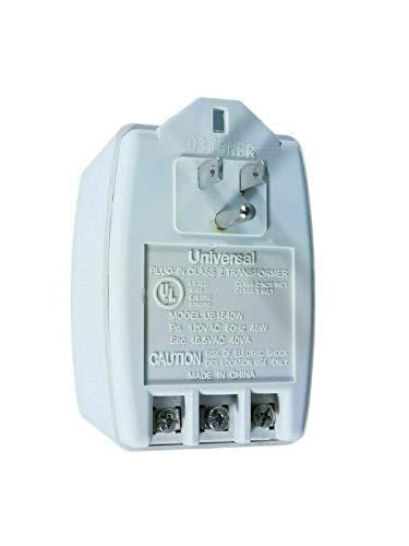 Universal Plug In Transformer Class 2 Input120VAC Output16.5VAC 40VA