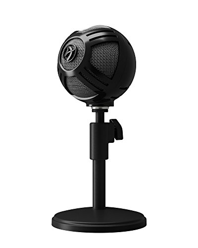 Arozzi Sfera PRO USB Microphone for Gaming & Streaming - Black
