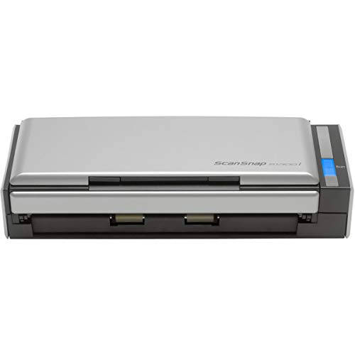 Fujitsu ScanSnap S1300i Portable Color Duplex Document Scanner for Mac and PC (Parent) ((1) Black)