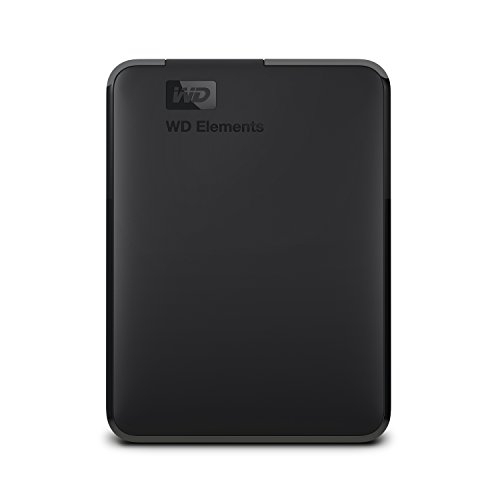 WD 3TB Elements Portable External Hard Drive, USB 3.0, Compatible with PC, Mac, PS4 & Xbox - WDBU6Y0030BBK-WESN