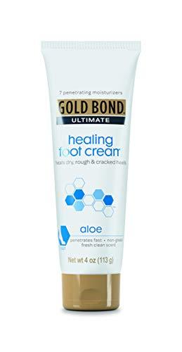 Gold Bond Ultimate 4oz Healing Foot Cream (Pack of 4)