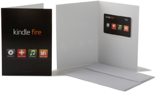 Amazon.com $40 Gift Card in a Greeting Card (Kindle Fire Card Design)