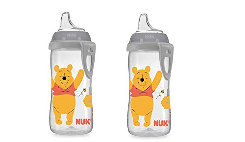 Disney Active Sippy Cup, Winnie The Pooh, 10oz (2 Pack)