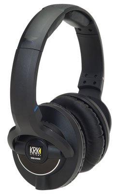 KRK KNS 8400 On-Ear Closed Back Circumaural Studio Monitor Headphones with Volume Control