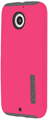 Motorola Moto X (2nd Gen) Case, Incipio [Shock Absorbing] DualPro Case for Motorola Moto X (2nd Gen)-Pink/Gray