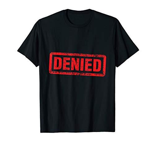 Denied Grunge Distressed Stamp T-Shirt