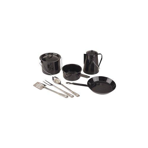 Coleman 8-Piece Enamel Cooking Set