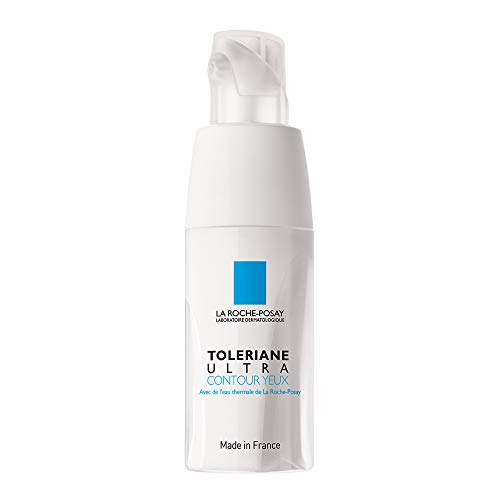 La Roche-Posay Toleriane Ultra Eye Cream Soothing Repair Moisturizer, 0.67 Fl Oz