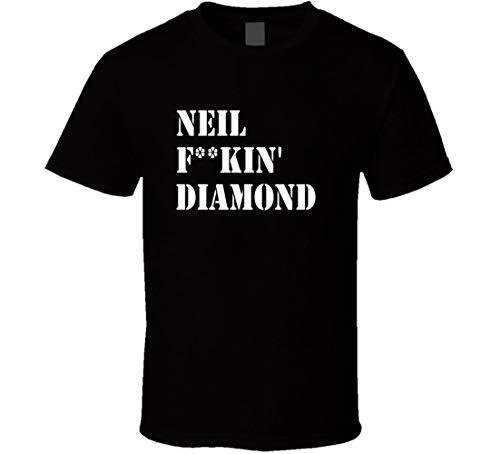 Neil Diamond Tonight Show Band Shirt Black