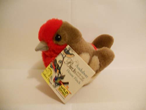 House Finch - Audubon Plush Bird (Authentic Bird Sound)