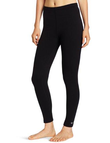 Duofold Women's Heavy Weight Double Layer Thermal Leggings, Black, Medium