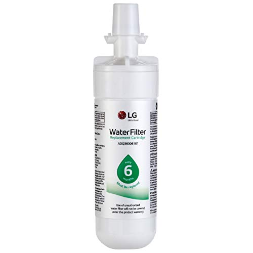 LG LT700P- 6 Month / 200 Gallon Capacity Replacement Refrigerator Water Filter (NSF42 and NSF53) ADQ36006101, ADQ36006113, ADQ75795103, or AGF80300702
