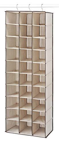 Whitmor Hanging Shoe Shelves 30 Section