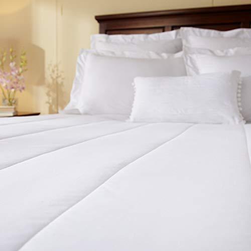Sunbeam Heated Mattress Pad | Quilted, 10 Heat Settings, White, Queen - MSU2KQS-V000-11A00