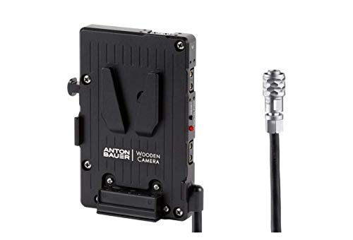 Wooden Camera Pro V-Mount | Compatible with Blackmagic Pocket Cinema Camera 4k / 6k, Bmpcc4k / Bmpcc6k | Secure Battery Mounting and Dc Connector | Durable and Rugged Aluminum Body