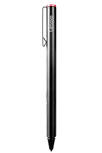 Lenovo Active Capacity Pens for Touchscreen Laptop for Lenovo Yoga 900S-12ISK, Miix 700-12ISK, Miix 510-12IKB, Miix 510-12ISK, Miix 720-12IKB,GX80K32882 - Black