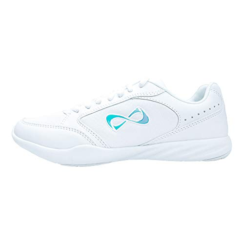 Nfinity Fearless Sneaker, White, US Adult 6.5