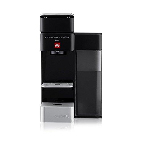 illy y5 Espresso and Coffee Machine, 5.7 x 9.6 x 11.2, Black