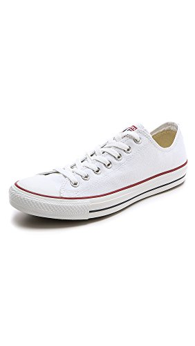 Converse Unisex Chuck Taylor All Star Low Top Sneakers -  White - 7 D(M) US