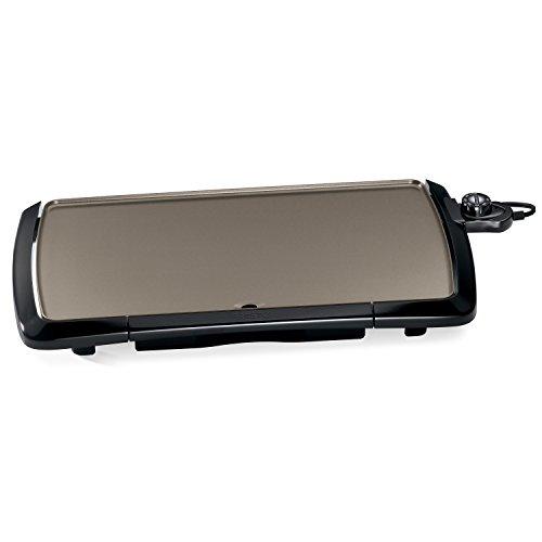 Presto 07055 Cool-Touch Electric Ceramic Griddle, 20', Black