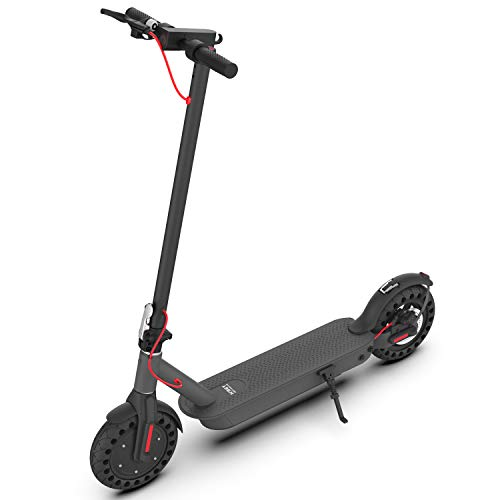 Hiboy S2 Pro Electric Scooter - 10' Solid Tires - 25 Miles Long-range & 19 Mph Folding Commuter Electric Scooter for Adults