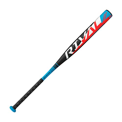 EASTON RIVAL Slowpitch Softball Bat   34 inch / 26 oz   2020   1 Piece Aluminum   Power Loaded   ALX50 Military Grade Aluminum Alloy   12 inch Barrel   Certification: Approved For All Fields