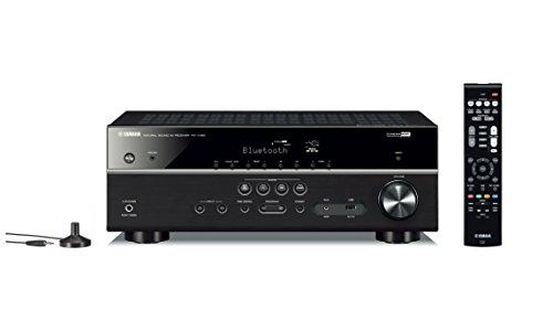 Yamaha RX-V385 5.1-Channel 4K Ultra HD AV Receiver with Bluetooth