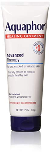 Aquaphor Healing Ointment Advanced Therapy Skin Protectant 7 oz (Pack of 3)