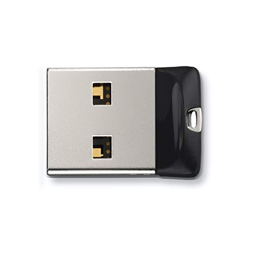 SanDisk 64GB Cruzer Fit USB 2.0 Flash Drive - SDCZ33-064G-G35