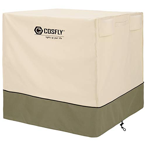 COSFLY Air Conditioner Cover for Outside Units-Durable AC Cover Square Fits up to 32 x 32 x 36 inches